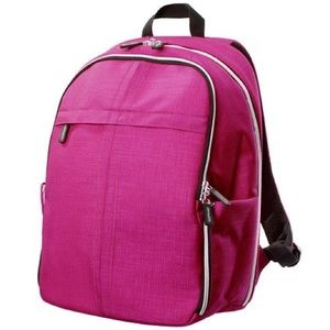 IKEA pink and black book-bag in great condition